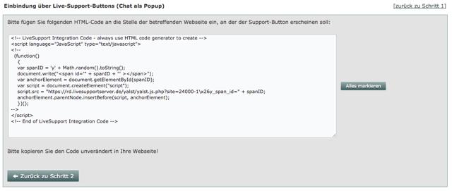 HTML-Codegenerator
